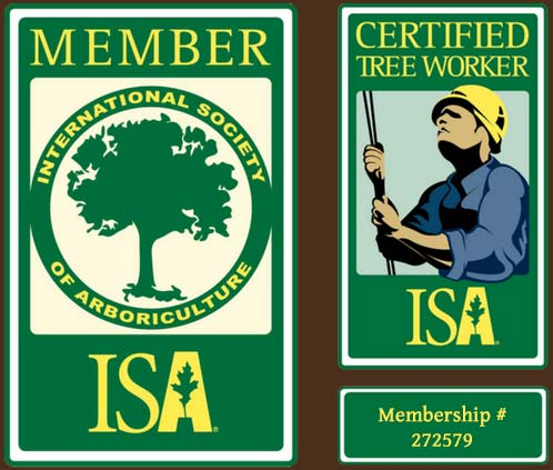 ISA Member Certified Tree Worker logo